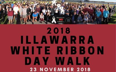 2018 Illawarra White Ribbon Day Walk