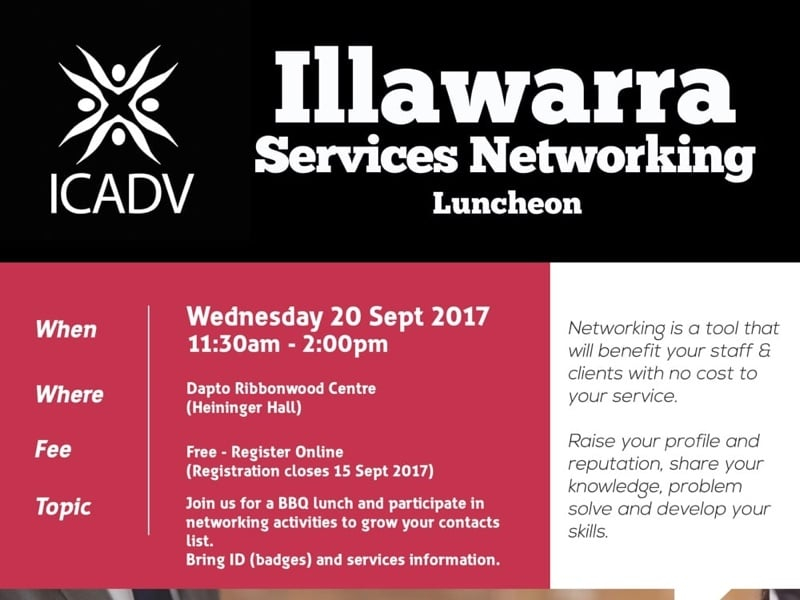 2017 Illawarra Services Networking Luncheon